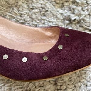 Madewell Shoes - Madewell Inez Suede Block Heels